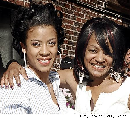 keyshia cole's mother frankie does a music video