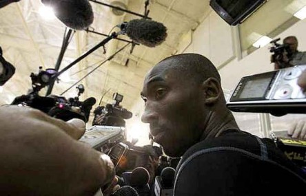 Kobe Bryant on Lamar Odom Trade: I dont like it.