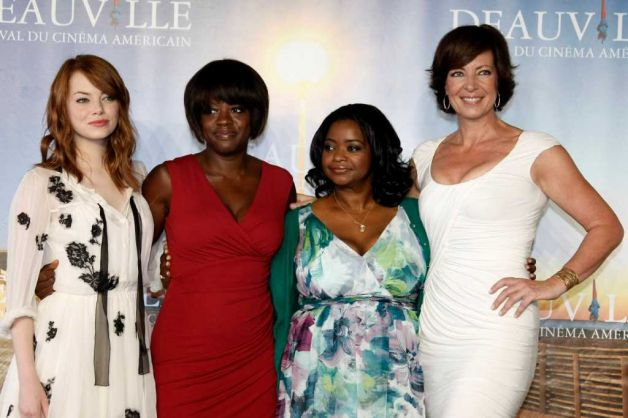the help leads nominations for SAG awards