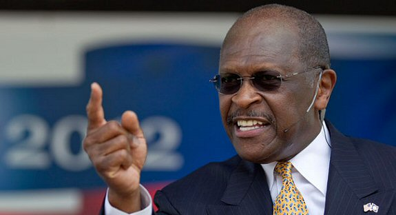 herman cain says he could see himself running the pentagon