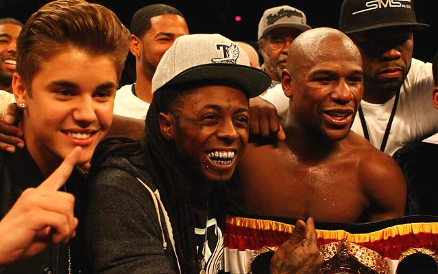 Why Was Justin Bieber in the Ring with Floyd Mayweather?