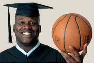 Don't Call Him Shaq, Call Him Dr. O'Neal