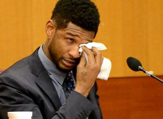 Usher Breaks Down and Cries in Court