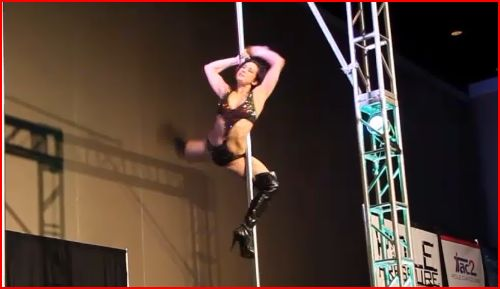 Could Pole Dancing be the Next Olympic Sport?  Don't Laugh, It's Possible