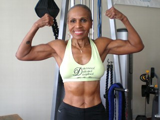 Check Out Ernestine Shepherd: The 75-year-old bodybuilding grandma