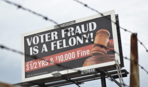 The Ohio Voter Fraud Billboards Are Coming Down