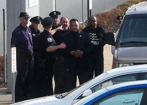 Rev Jesse Jackson was arrested for protesting outside a factory where jobs are being moved to China