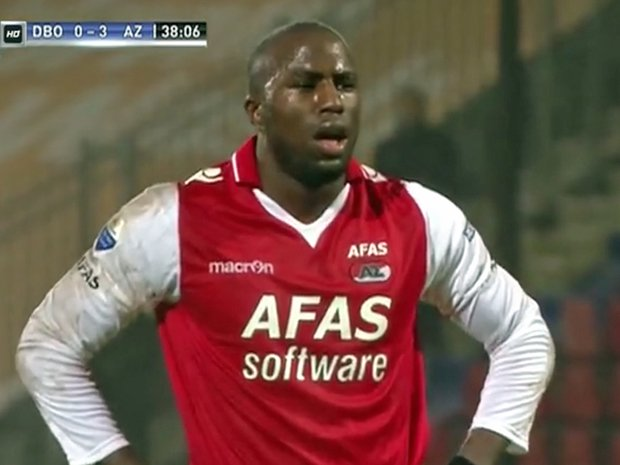"African American footballer verbally abused with ""monkey"" chants by Dutch fans scores goal regardless"