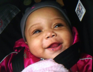 A 6-month-old Chicago baby died this morning from injuries she suffered from being shot.
