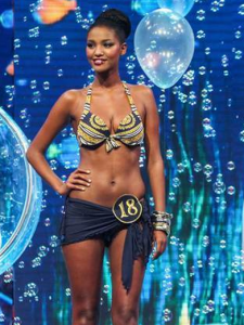 Yityish Aynaw is the first black Miss Israel.
