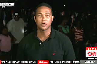 "CNN's Don Lemon Alleges National Guard Called Protesters the ""N"" Word"